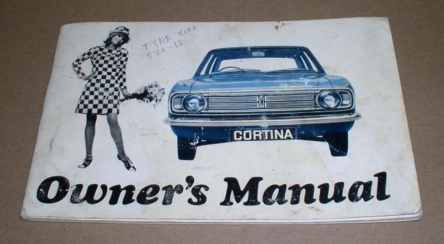 Cortina Owner's Manual